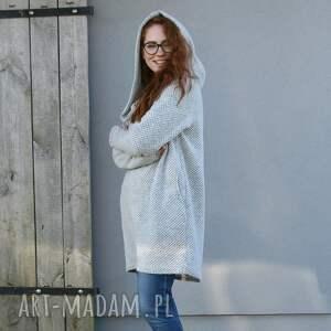 niepowtarzalne swetry duże rozmiary sweter wełniany jesienno zimowy