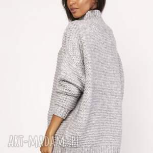 swetry sweter sweterek - golf, swe116 szary