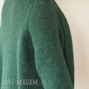 MonDu swetry: Szmaragdowy kardigan