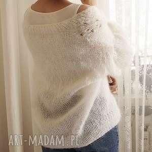 swetry tulip - biały