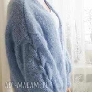 oryginalne swetry kardigan tulip - niebieski