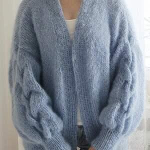 swetry wełniany tulip - niebieski