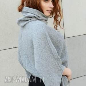 swetry wdzianko narzuta wełniane