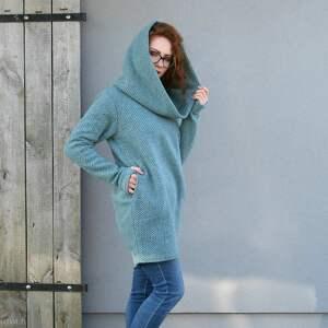 ręcznie wykonane swetry wełniany-sweter wełniany sweter, luźny wygodny