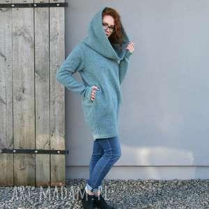 swetry ciepły-sweter wełniany sweter, luźny wygodny