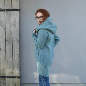 ręcznie wykonane swetry ciepły-sweter wełniany sweter, luźny wygodny