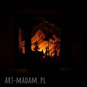 unikalne świeczniki las drewniany świecznik przez - do