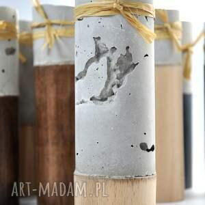 OLDTREE świeczniki cement
