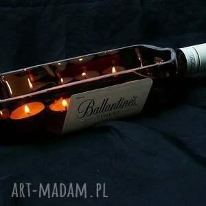 świeczki świeczniki dla twojego faceta. świecąca whisky