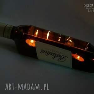 wyjątkowe świeczniki świeczki dla twojego faceta. świecąca whisky
