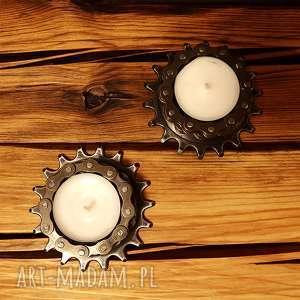 świeczniki rowerowy rack 2 szt