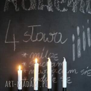 frapujące świeczniki świecznik