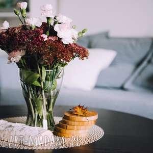 świeczniki rustykalny świecznik brzozowy