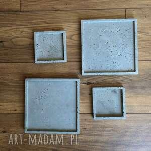 świeczniki betonowy tacka betonowa podstawka podkładka