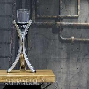 oryginalne świeczniki industrialny wysoki świecznik rim bikesbazar 119,00 pln kup