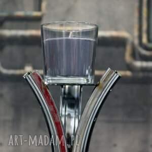 industrialny świeczniki wysoki świecznik rim