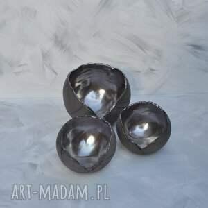 wyraziste świeczniki tealight zestaw - lampion ceramiczny ozdobny