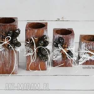 ręcznie zrobione świeczniki świecznik zestaw świeczników, 267