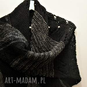 eleganckie szaliki chusta asymetryczna