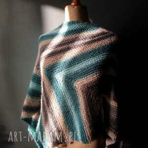 hand made szaliki chusta bardzo duża