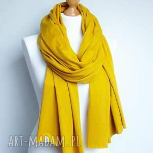 szaliki chusta ceylon yellow szal szalik