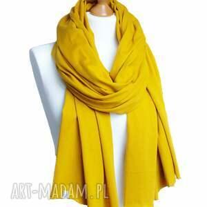 awangardowe szaliki chusta ceylon yellow szal szalik