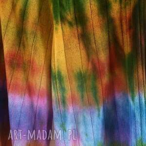 szaliki prezent ciepły kolorowy wełniany