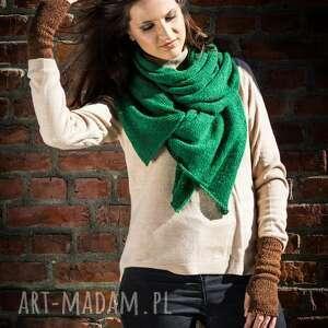 niekonwencjonalne szaliki szal ciepły, obszerny, miękki w kolorze