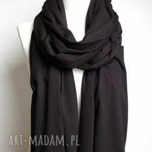 szaliki apaszka czarny szal chusta szalik