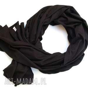 apaszka czarny szal chusta szalik