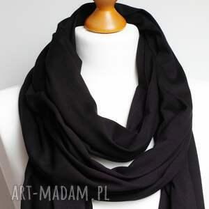 szaliki długi wąski szal szalik bawełniany