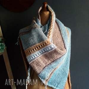 The Wool Art szaliki: duża chusta - wełniana