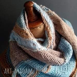 The Wool Art szaliki: duża chusta - wełniana szal