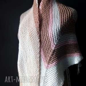 nietypowe szaliki duża ciepła chusta