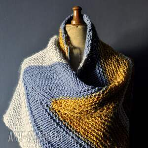 ciepłachusta szaliki duża ciepła chusta