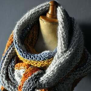 szaliki ciepłachusta duża ciepła chusta
