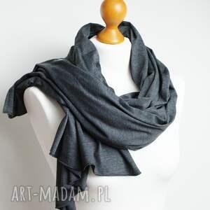 handmade szaliki szal duży, chusta bawełniana. jest uszyty