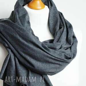 chusta szaliki duży szal bawełniany na jesień