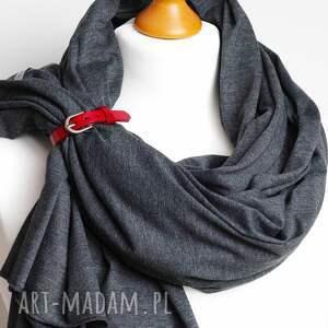 handmade szaliki duży szal bawełniany na jesień