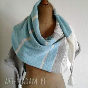 handmade szaliki szal duży
