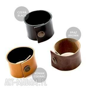brązowe szaliki ekologicze dzianinowy tuba komin szal 2w1