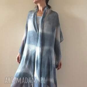 Anna Damzyn szaliki: Elegancki lniany szal - len