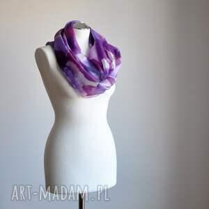 ręcznie malowany szaliki jedwabny szal - odcienie