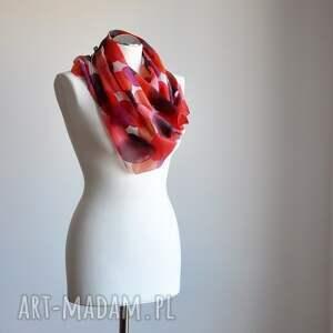 ręcznie-malowany szaliki jedwabny malowany szal - odcienie
