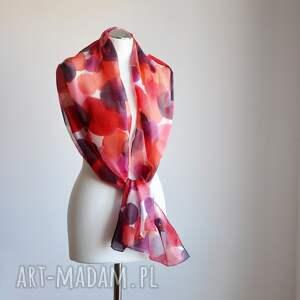oryginalne szaliki ręcznie-malowany jedwabny malowany szal - odcienie