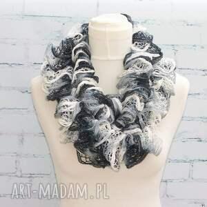 hand made szaliki szalik klasyka - boa