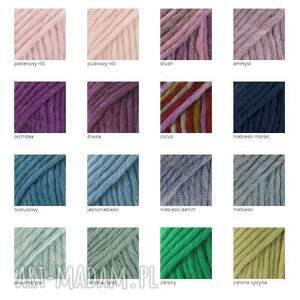 frędzle szaliki kolorowe 48 kolorów 100% wool ciepły