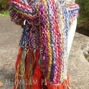 intrygujące szaliki koloroweresztki kolorowy szal boho