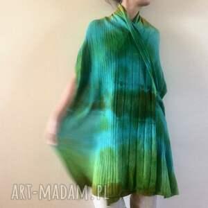 atrakcyjne szaliki prezent kolorowy wełniany szal