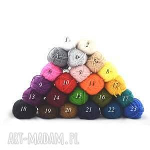 handmade szaliki zimowy kolory do wyboru - szal